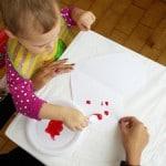 Toddler-art-blot-painting