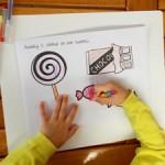 Child development of fine motor skills through art and craft