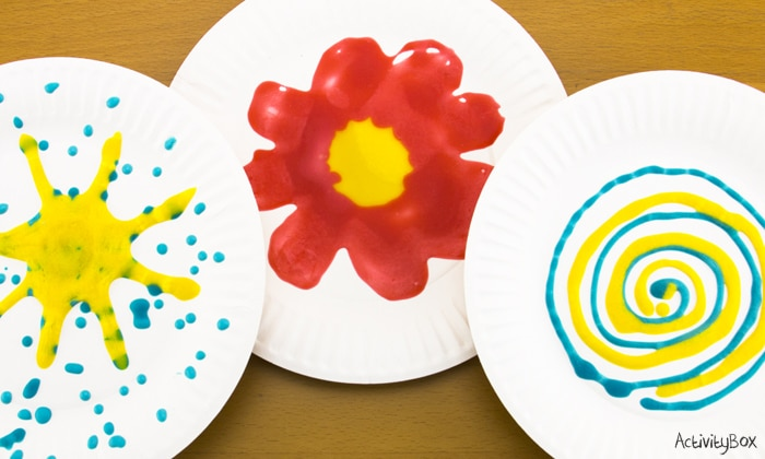 Puffy Paint rainy day activities for kids in Hong Kong