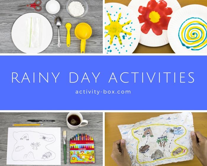 ActivityBox Rainy day activities