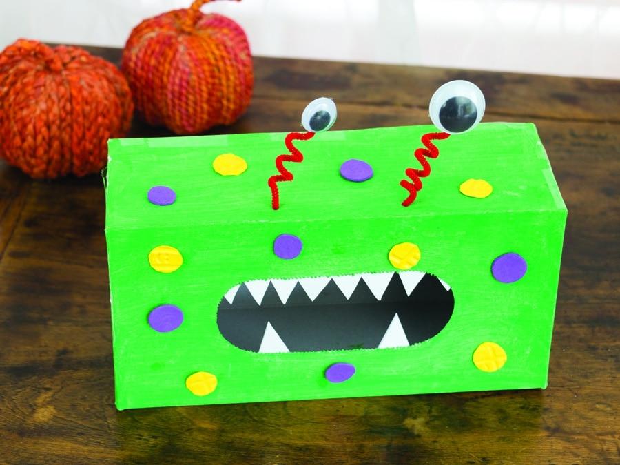 Halloween Craft Box Monster Box