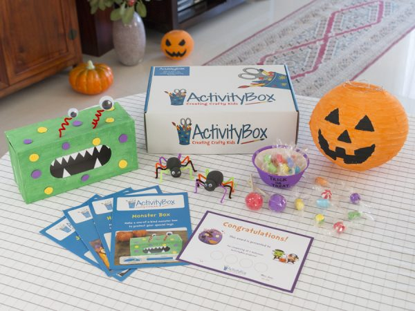 Halloween Craft Box