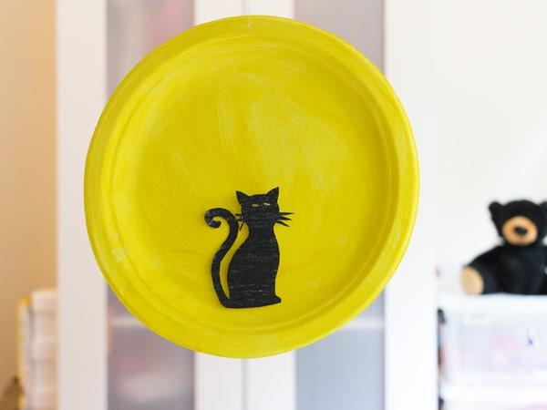 Halloween craft 3D cat harvest moon activitybox
