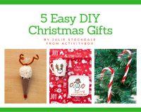 5 Easy DIY Christmas gifts