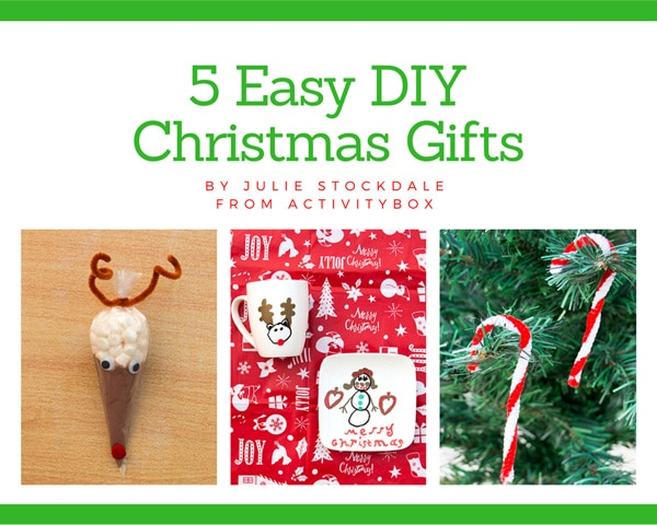 5 Easy DIY Christmas Gifts