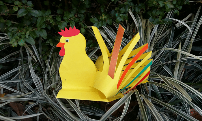 Easy Chinese New Year Rooster Crafts Activitybox Craft Kits For