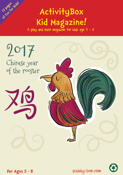 Year of The Rooster Kid actvitybox-magazine