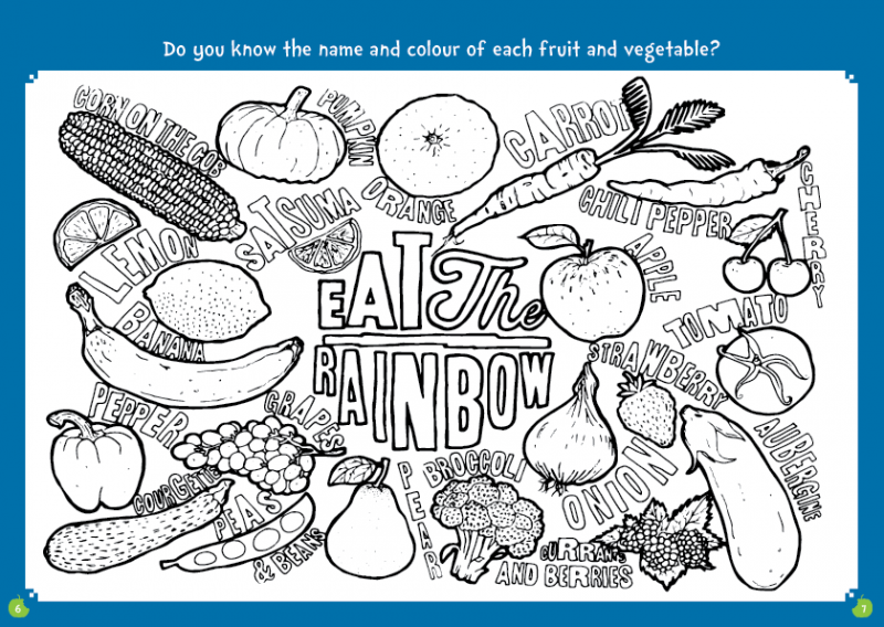 Little Chef ActvityBox Magazine Colouring Page