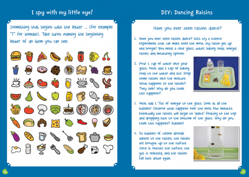 Little Chef ActvityBox Magazine I-spy and DIY Science