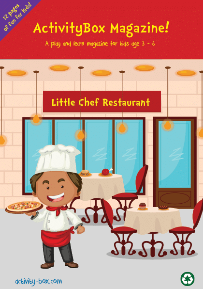 Little Chef ActvityBox Magazine