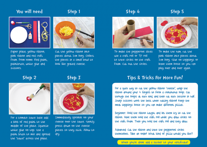 Little Chef Project Pizza Instructions