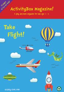 Take Flight ActvityBox Magazine