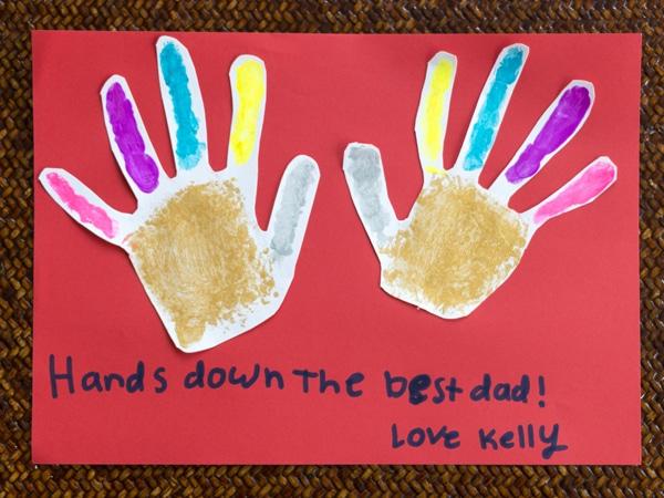 ActivityBox DIY Father's Day Card Handprint Final