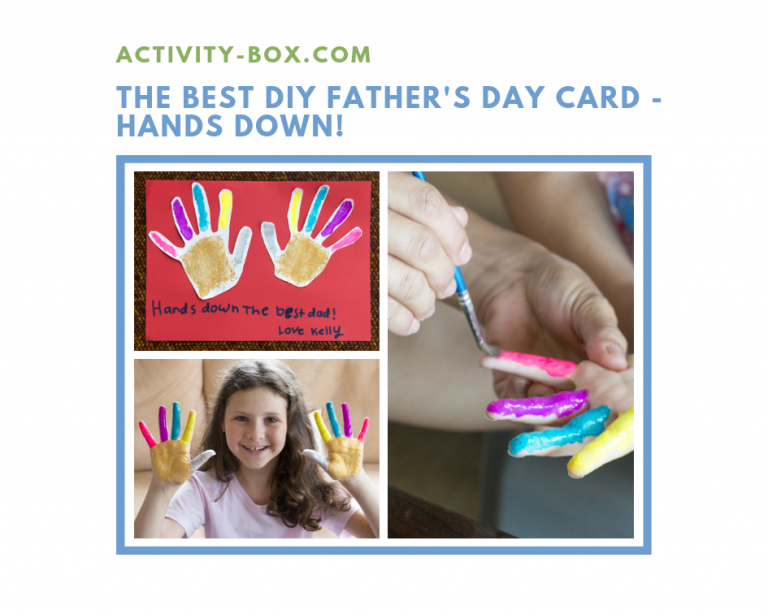 ActivityBox Father's Day DIY Card