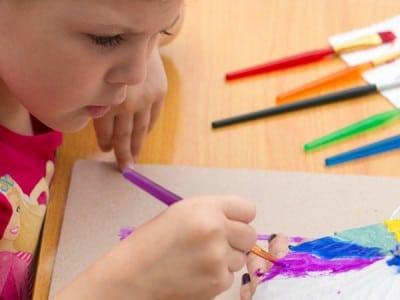 Art and crafts child development