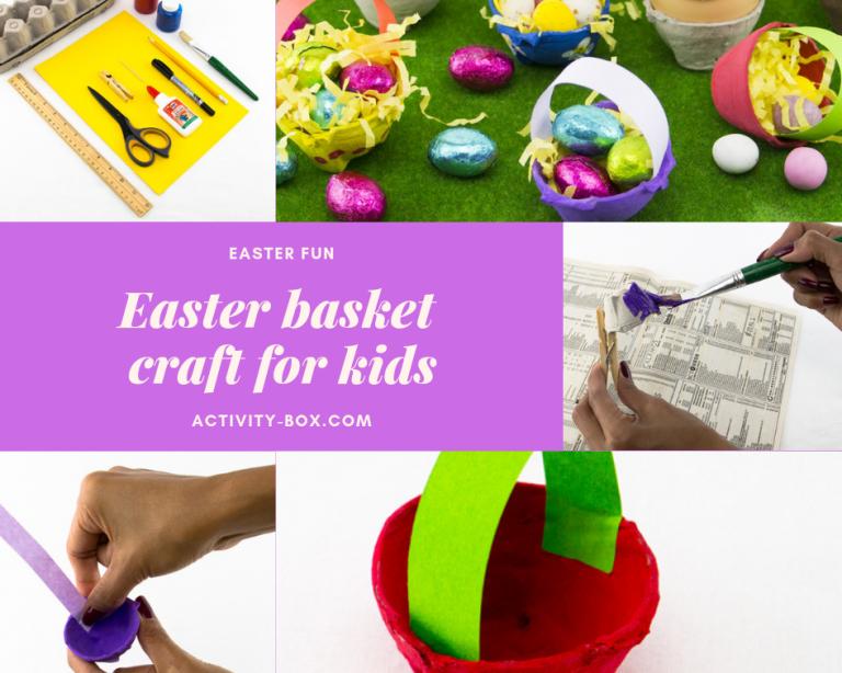 Easter basket craft for kids activitybox