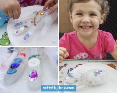 Frozen Hand Kids Ice ActivityBox Step 5
