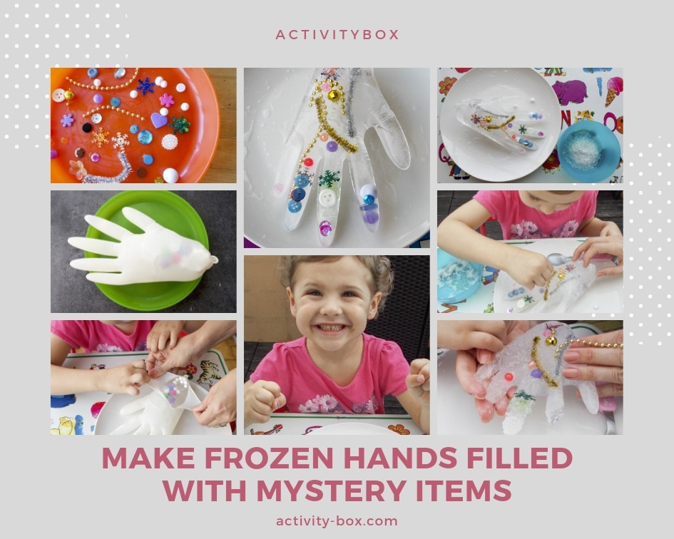 Frozen Hand Kids Ice ActivityBox