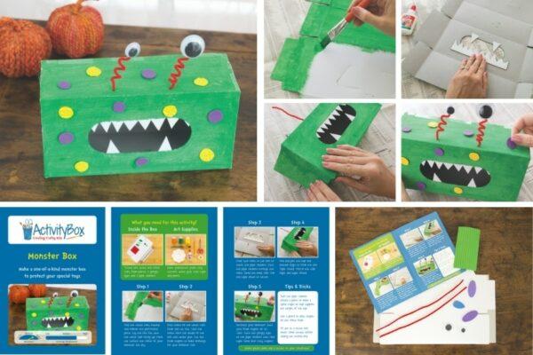 Monster Box Halloween craft