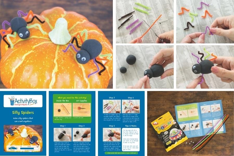 Halloween Spider ActivityBox